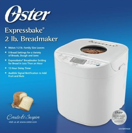 The Oster Expressbake Bread Machine: Is It Worth Buying?