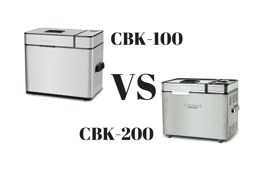Cuisinart Bread Maker CBK 100 vs 200