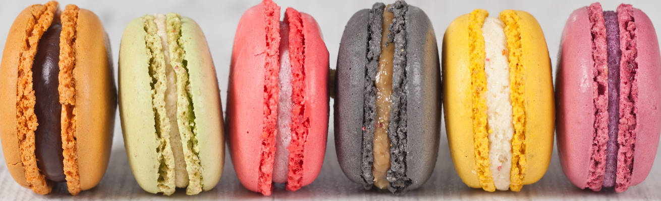 baking smart macaroons