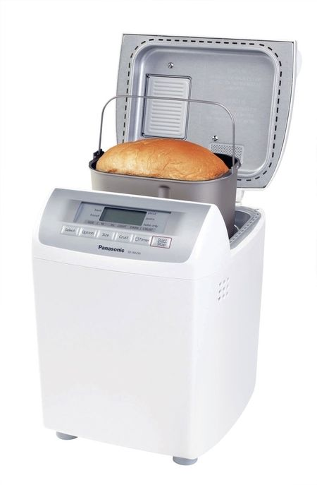 baking smart panasonic bread maker