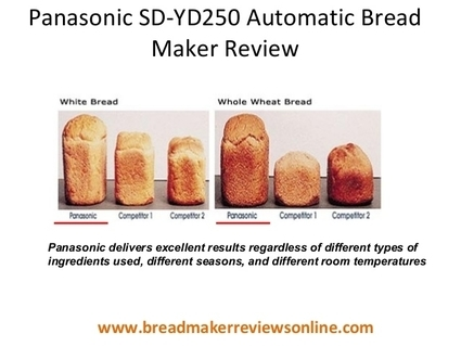 Panasonic SD-YD250 Pros and Cons